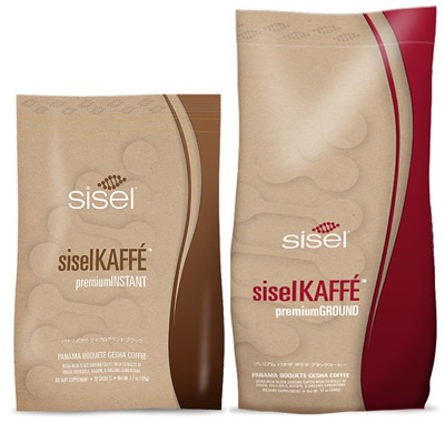 Sisel Kaffe Instant Black and Premium Ground Coffee